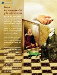 A propósito de dos aniversarios. Galileo y Darwin.