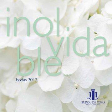 bodas 2012 - Castilla Termal Hoteles