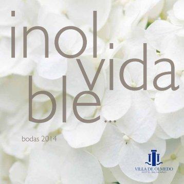 bodas 2014 - Castilla Termal Hoteles