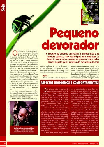 ASPECTOS BIOLÓGICOS E COMPORTAMENTAIS - Ainfo - Embrapa
