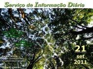 Serviço de Informação Diária set 2011 - Secretaria da Agricultura e ...