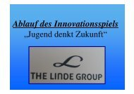 The Linde Group - Realschule Kulmbach