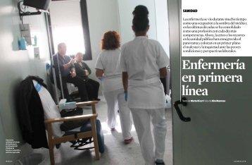 Enfermería en primera línea - Clínica Corachan