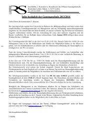 Elterninformation GTS 2013 - Realschule Lehrte