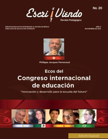 Revista Pedagógica Escri/viendo no.20 - SEIEM