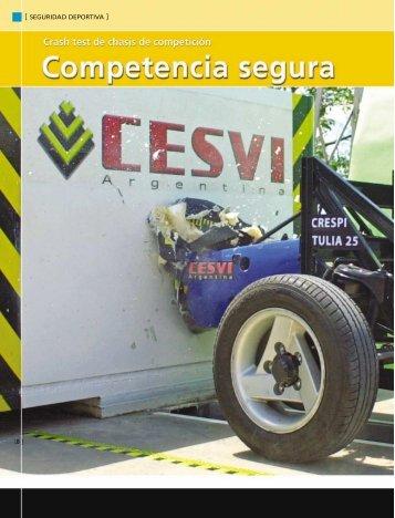 Nota crash competicion.qxd - CESVI Argentina