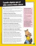 Cuando alguien que conoces tiene cáncer - Scholastic - Page 3