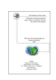 Jair Rodrigues Pereira Neto Utilização do geoprocessamento - UFMG
