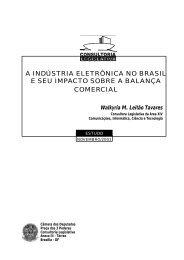 a indústria eletrônica no brasil e seu impacto sobre a balança ...