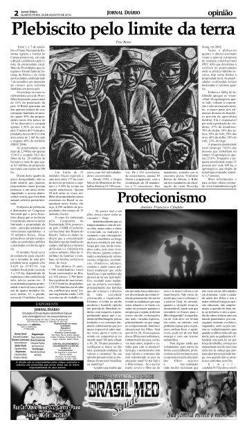 Página 2 e 4 - Jornal Diario