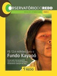 Fundo Kayapó - Observatório do REDD