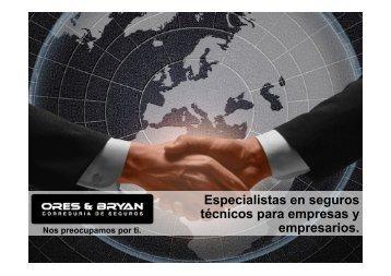 Descargar presentación corporativa. - Ores & Bryan