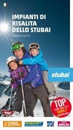 imPianti Di riSalita DellO Stubai - Stubaier Gletscher