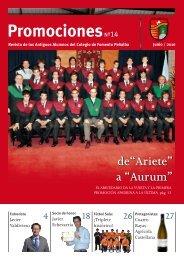 Aurum - Asociacion Antiguos Alumnos Colegio Peñalba