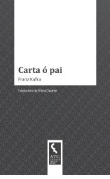 Franz Kafka Carta ó pai - Asociación de Tradutores Galegos
