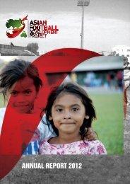 AFDP-Annual-Report-2012