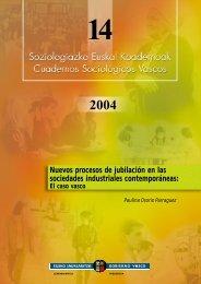 Nuevos procesos de jubilación en las sociedades ... - Euskadi.net
