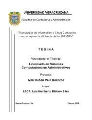 Tecnologías de información y cloud computing como apoyo en la ...
