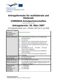 Antrag Eurovips - Realschule Nienburg