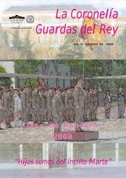 La Coronelía Guardas del Rey - Ejército de tierra