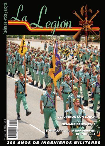 revista la legión nº 515 abril, mayo y junio 2011 - Portal de Cultura ...