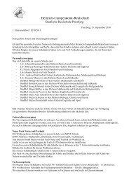 1.Elternrundbrief 10-11 - Heinrich-Campendonk-Realschule Penzberg