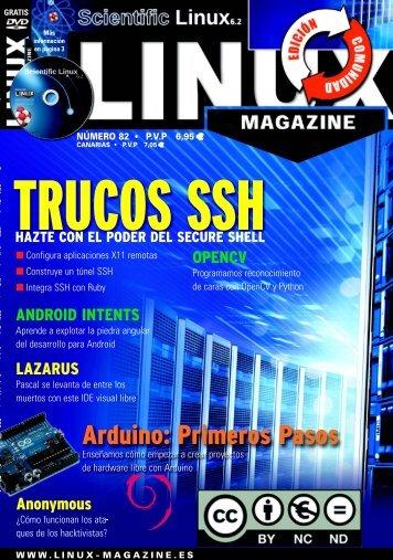 Número 82: Trucos SSH - Linux Magazine