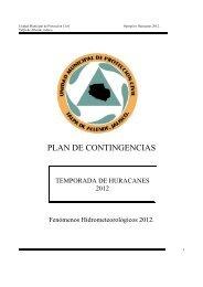 PLAN DE CONTINGENCIAS - Talpa de Allende