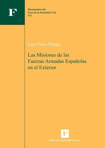 Las Misiones de las Fuerzas Armadas Españolas en el Exterior
