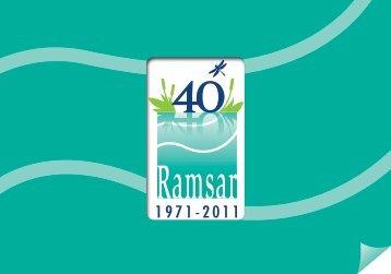 Folleto conmemorativo - Ramsar Convention on Wetlands