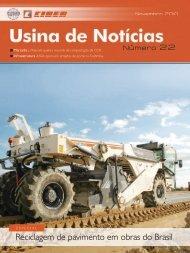 Reciclagem de pavimento em obras do Brasil - Ciber