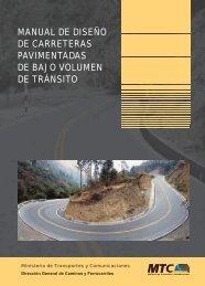 Manual de Diseño de Carreteras Pavimentadas de Bajo Volumen