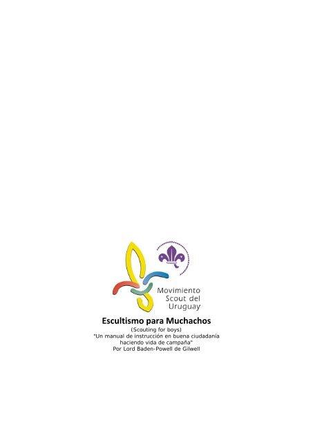 Escultismo Para Muchachospdf Movimiento Scout Del Uruguay