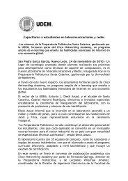 Cisco Networking Academy.pdf - Universidad de Monterrey