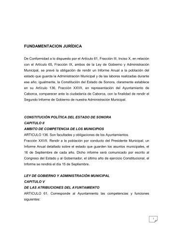 Segundo Informe de Gobierno - Caborca
