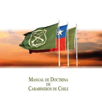 manual de doctrina - escuela de suboficiales | carabineros de chile