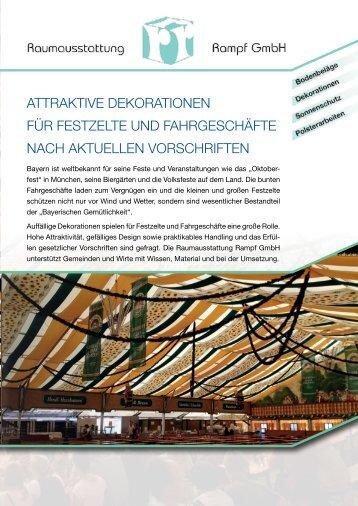 Festzelt-Deko - Mehr dazu lesen (PDF)