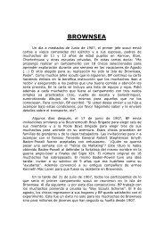 Programación Campamento Brownsea - Scouts MSC