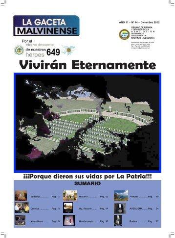 Tapa 44.pmd - Asociación Veteranos de Guerra de Malvinas