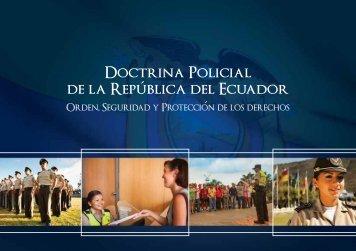 Doctrina Policial - Ministerio del Interior