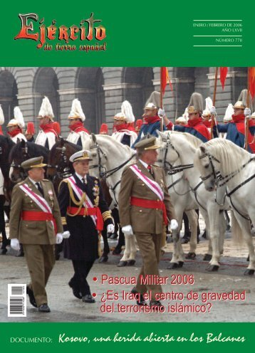 revista ejercito. numero 778. enero/febrero 2006 - Portal de Cultura ...