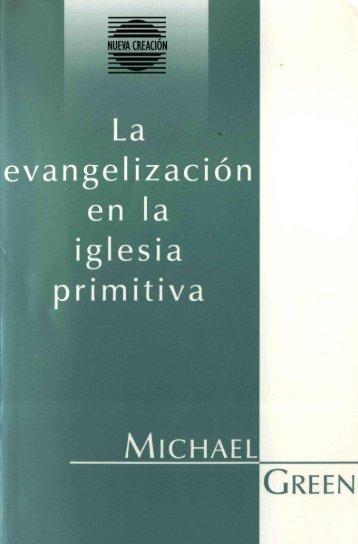evangelizacion en la iglesia primitiva