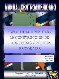 especificaciones para la construcción de carreteras y puentes - Inti