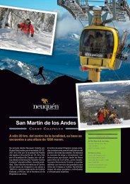 Neuquen Flyer del Cerro Chapelco en San Martin de los ... - Argentina
