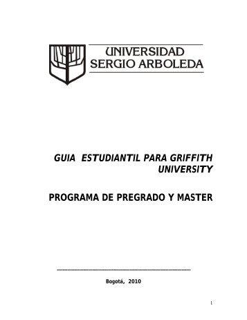 guia estudiantil para griffith university programa de pregrado y master