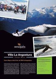 Neuquen Flyer del Centro de Esqui Cerro Bayo en Villa ... - Argentina