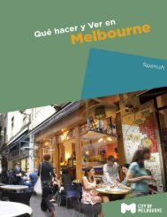 What to do and See in Melbourne