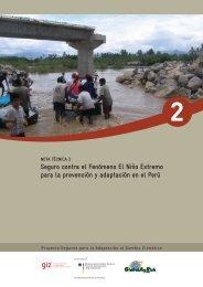 Seguro contra el Fenómeno El Niño Extremo para la prevención y ...
