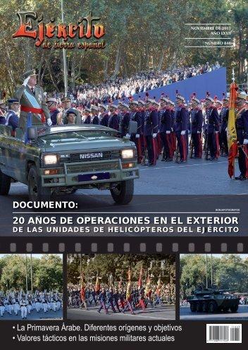 REVISTA EJÉRCITO Nº 848 NOVIEMBRE 2011 - Portal de Cultura ...