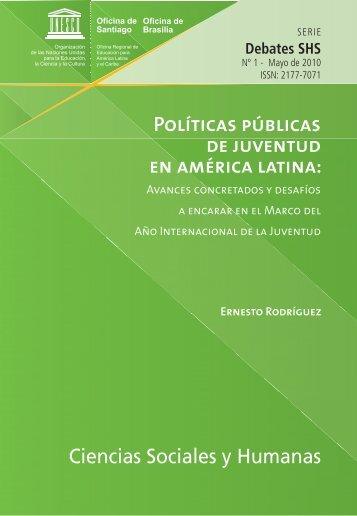 Políticas públicas de juventud en América Latina - unesdoc - Unesco